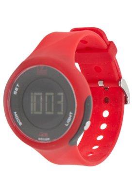 Relógio Dumont M SM45300N Vermelho
