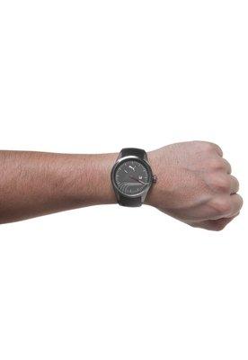Relógio Stripe Preto/Prata - Puma