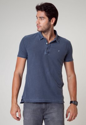 Camisa Polo Redley Street Azul