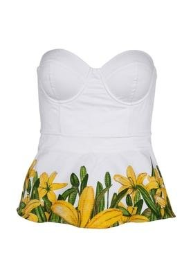 Blusa Small Flower Branca - Colcci