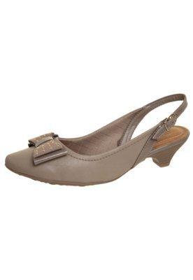 Sapato Scarpin Chanel Laço Hotfix Bege - Piccadilly