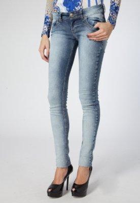 Calça Jeans Bordado Azul - Colcci