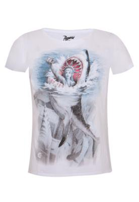 Camiseta Billabong Slim Manhattan Branca