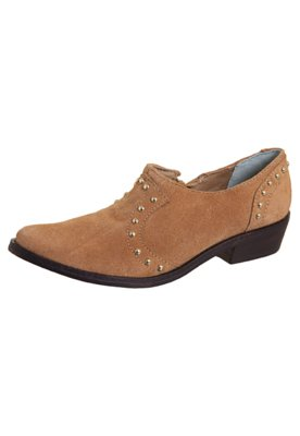 Ankle Boot Chelsea Tachas Bege - Lilly's Closet