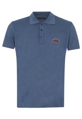 Camisa Polo Osmoze Unik Azul