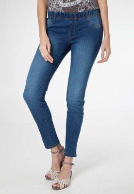 Calça Jeans MNG Barcelona Jegging Piti8 Azul
