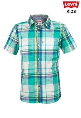 Camisa Levis Kids Castor SPectra Xadrez