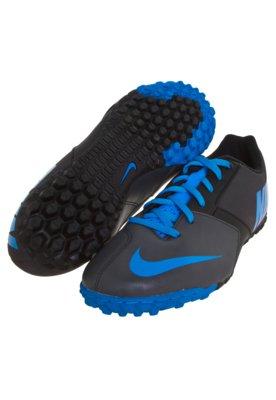 Chuteira Society Nike 5 Bomba Ii Preta