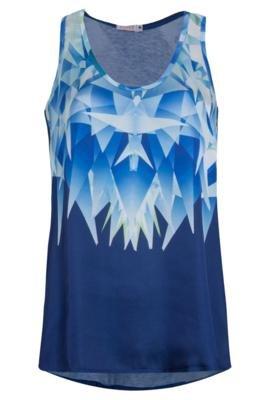 Blusa SPezzato Espelho Azul