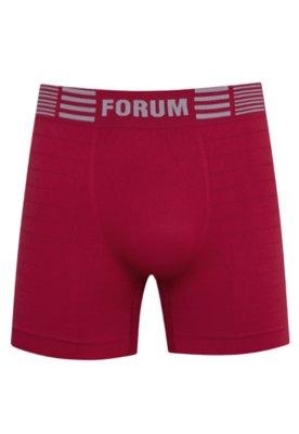 Cueca Boxer Forum Sem Costura Vermelha