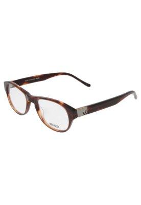 Óculos Receituário Kenzo Polli Marrom