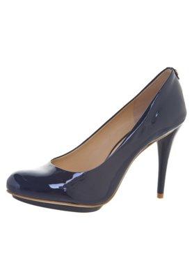 Sapato Scarpin Jorge Bischoff Verniz Liso Azul