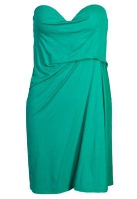 Vestido Loose Prega Verde - Coca Cola Clothing