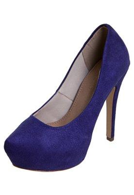 Sapato Scarpin FiveBlu Liso Azul