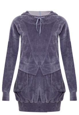 Blusão Mulher Elastica Glossy Roxo