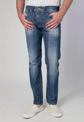 Calça Jeans Reta Psychobilly Picasso Azul - Cavalera