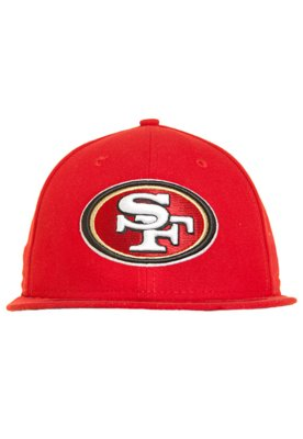 Boné New Era 59Thirty NFL Evergreen San Franscisco 49ers Te...
