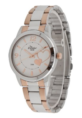 Relógio KX75078B Condor Prata