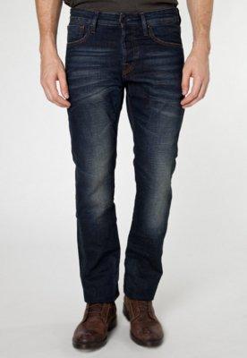 Calça Jeans Scotch & Soda Reta Breslin Azul