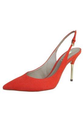 Sapato Scarpin Dumond Chanel Vermelho