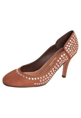 Sapato Scarpin Santa Lolla Hotfix Caramelo