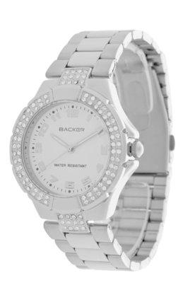 Relógio 3005123F Prata - Backer