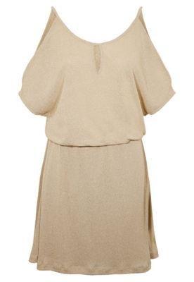Vestido Thelure Duomo Dourado