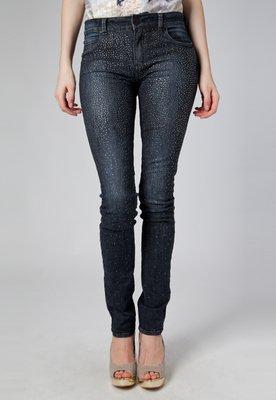Calça Jeans Skinny Fátima Strass Azul - Forum