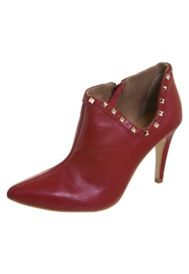 Ankle Boot SPikes Valentino Like Vermelha - Raphaella Booz