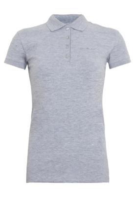 Camisa Polo Calvin Klein Jeans Omega Cinza