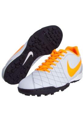 Chuteira Society Nike Flare TF Cinza