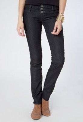 Calça Jeans Triton Reta Tamy Preta