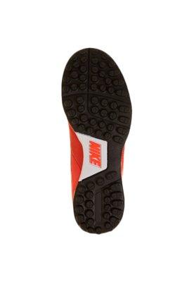 Chuteira Society Nike Jr. Tiempo Natural IV LTR TF Vermelha