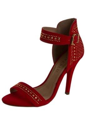 Sandália FiveBlu Hotfix Vermelha