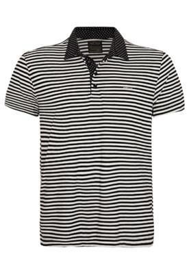 Camisa Polo Colcci Brasil Style Listrada
