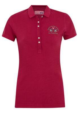 Camisa Polo La Martina Nocolleta Vermelha