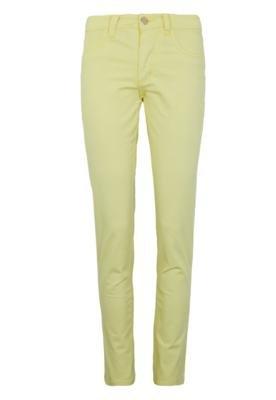 Calça Jeans Mercatto Skinny Clean Amarela