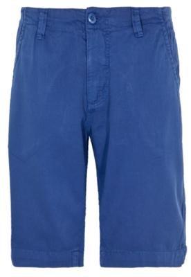Bermuda Sarja Color Azul - Redley