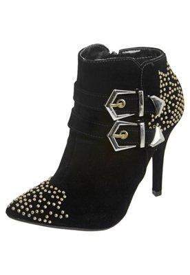 Ankle Boot Cravos Preta - FiveBlu