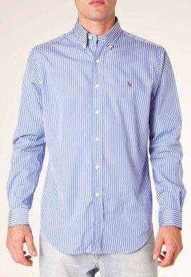Camisa Polo Ralph Lauren Classic Listrada