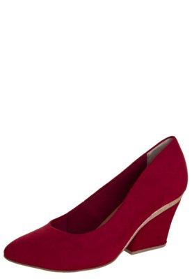 Sapato Scarpin Crysalis Genebra Vermelho