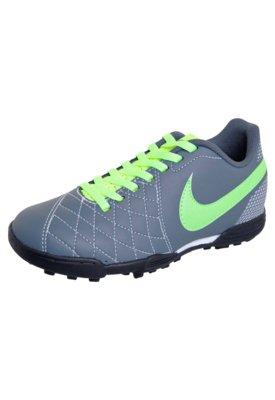 Chuteira Society Infantil Nike Jr Flare TF Cinza