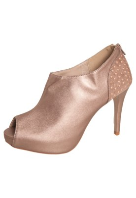 Ankle Boot Glam Bronze - Pink Connection