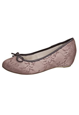 Sapato Scarpin Renda Nude - FiveBlu
