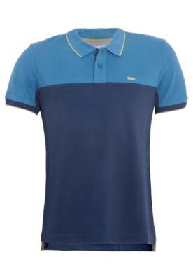 Camisa Polo Levi's Bordado Azul - Levis