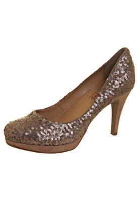 Sapato Scarpin Bottero Guerra dos Sexos Charlo's Paetê Marr...