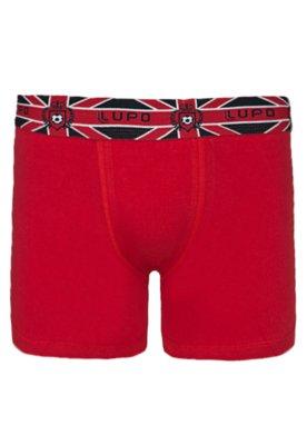 Cueca Boxer Style Vermelha - Lupo