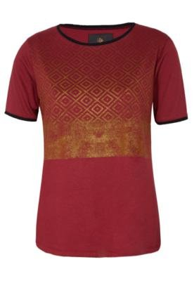 Blusa Sommer Reta Cute Vermelha