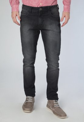 Calça Jeans Straight Gilson Preta - Triton