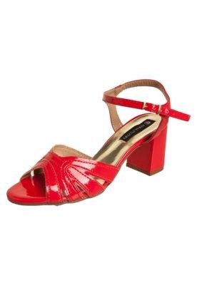Sandália Anna Flynn Style Vermelha
